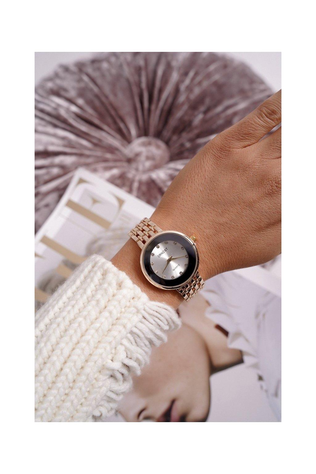 Dámske hodinky Ernest zlaté Beauty