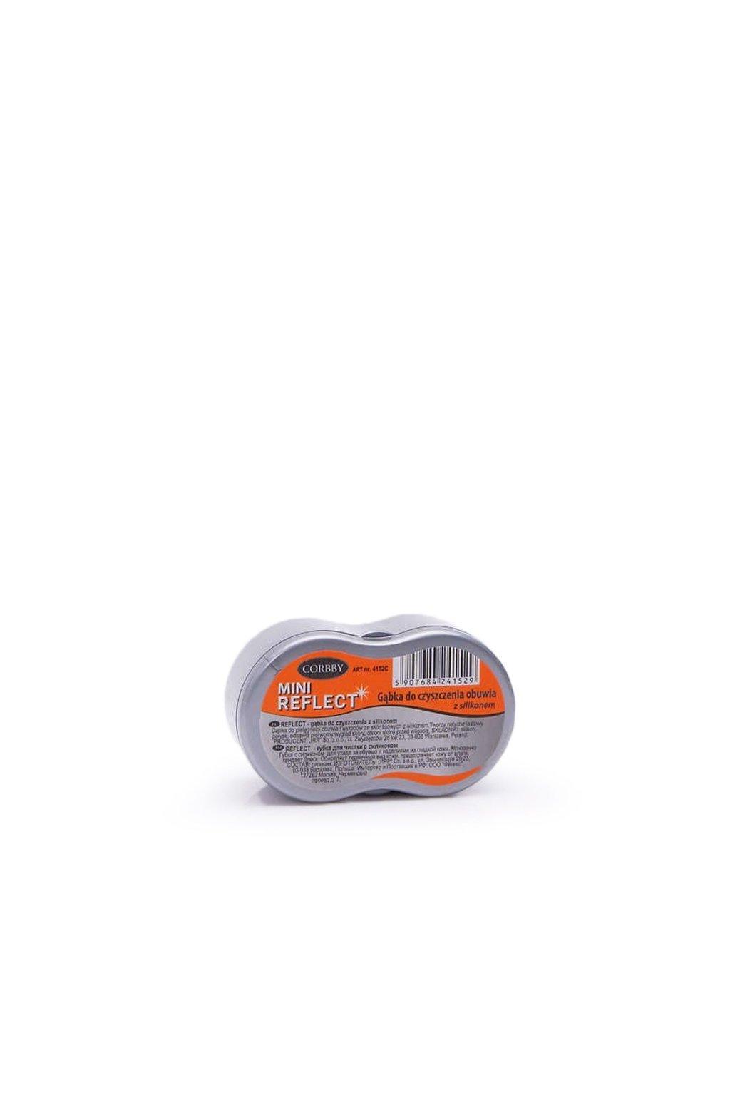 Corbby Mini Reflect Silikónová huba na čistenie obuvi