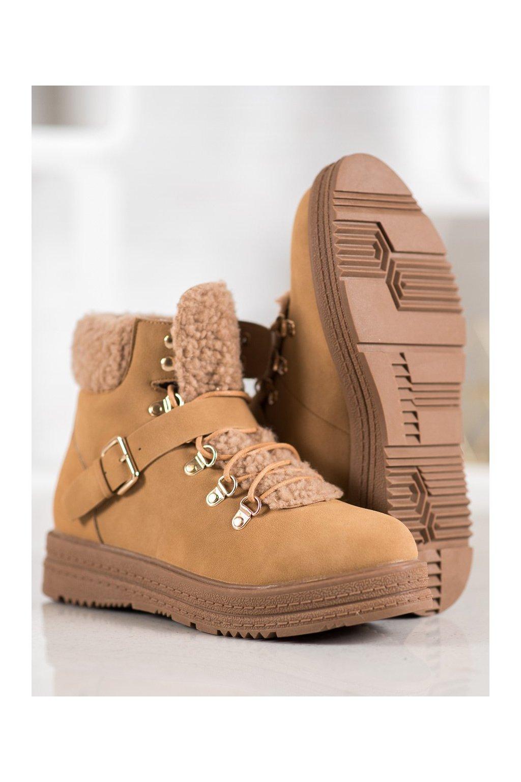 Hnedé dámske topánky Vices kod 8317-17C