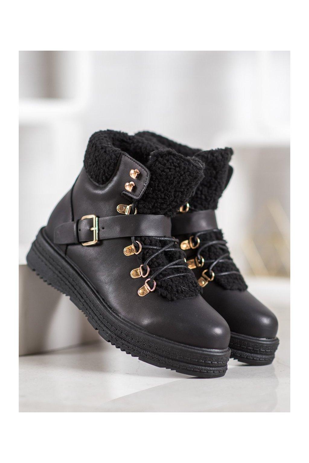 Čierne dámske topánky Vices kod 8317-1B
