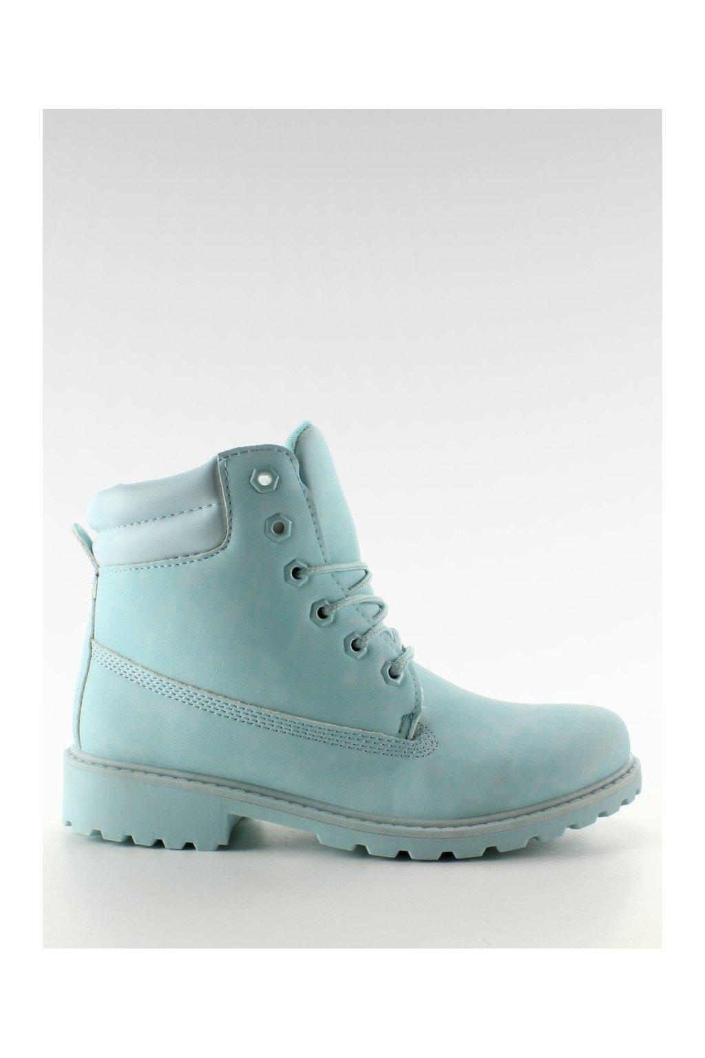 Dámske topánky na zimu modré BL83