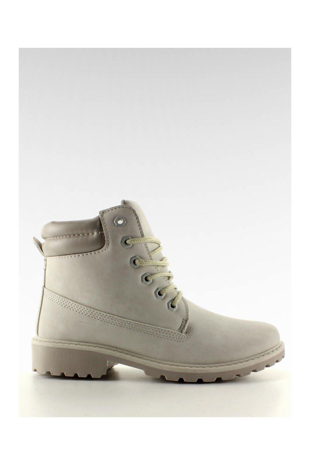 Dámske topánky na zimu sivé BL83