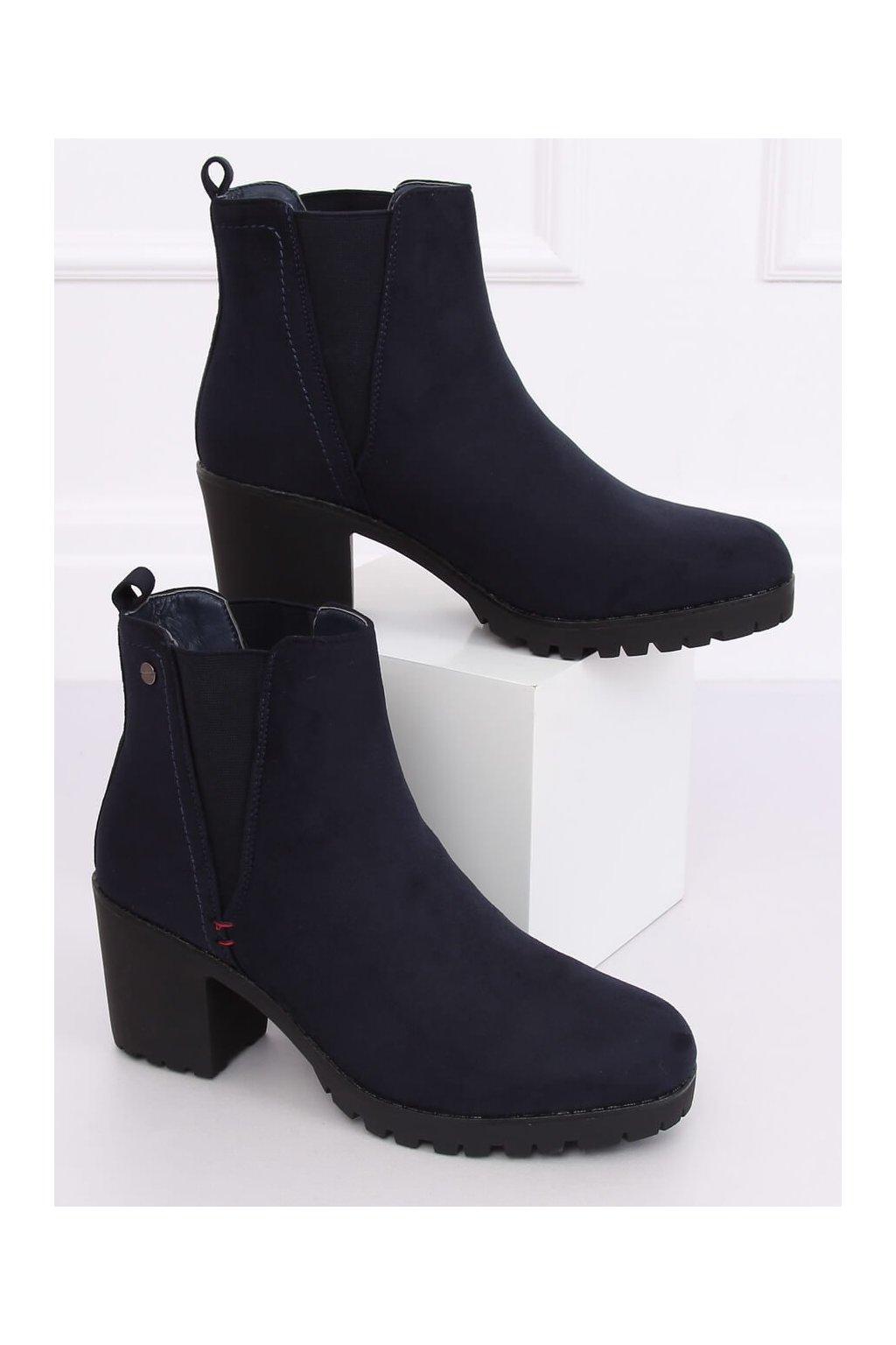 Dámske členkové topánky W373