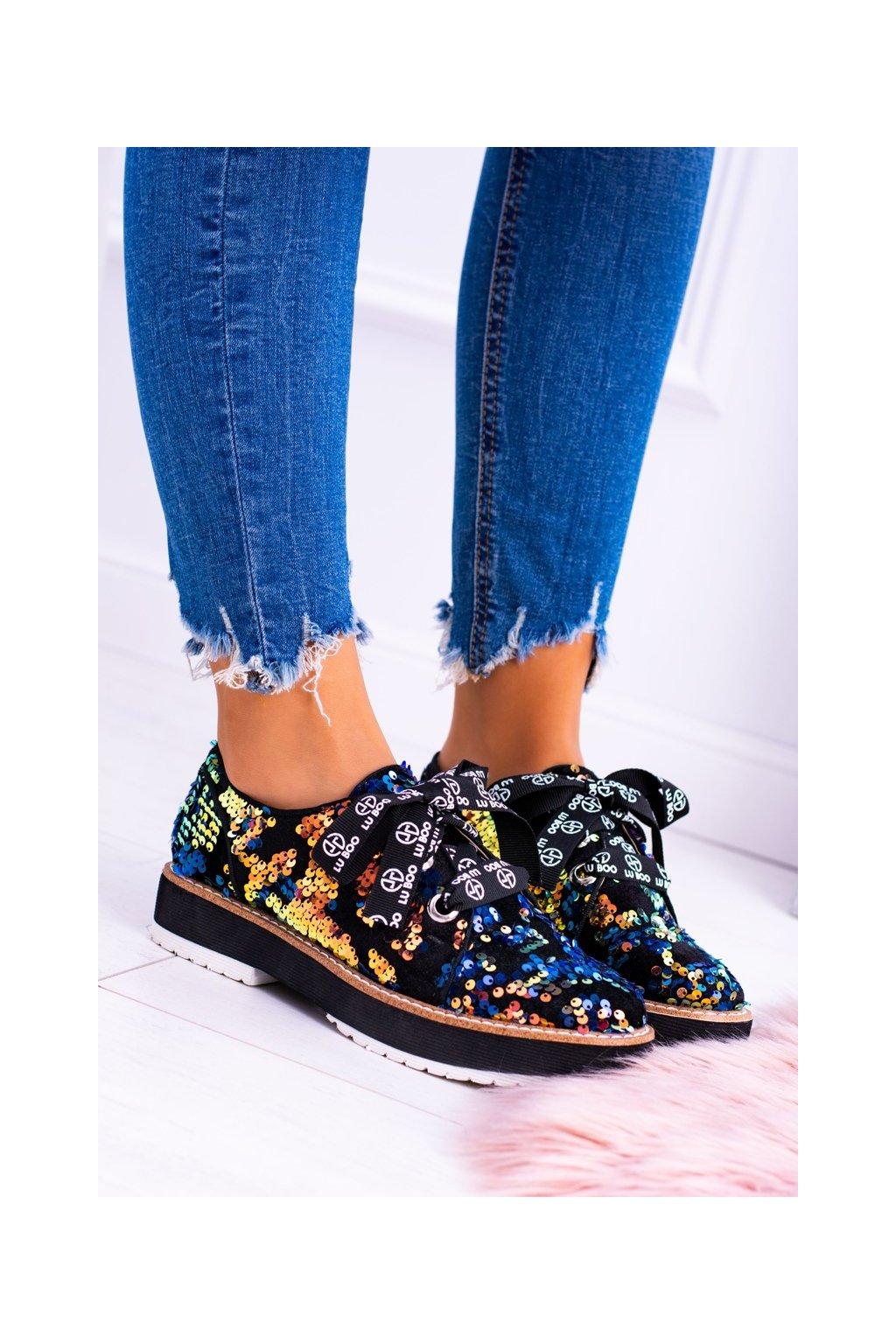 Lu Boo vícebarevný semišove Dámske topánky Moonlight