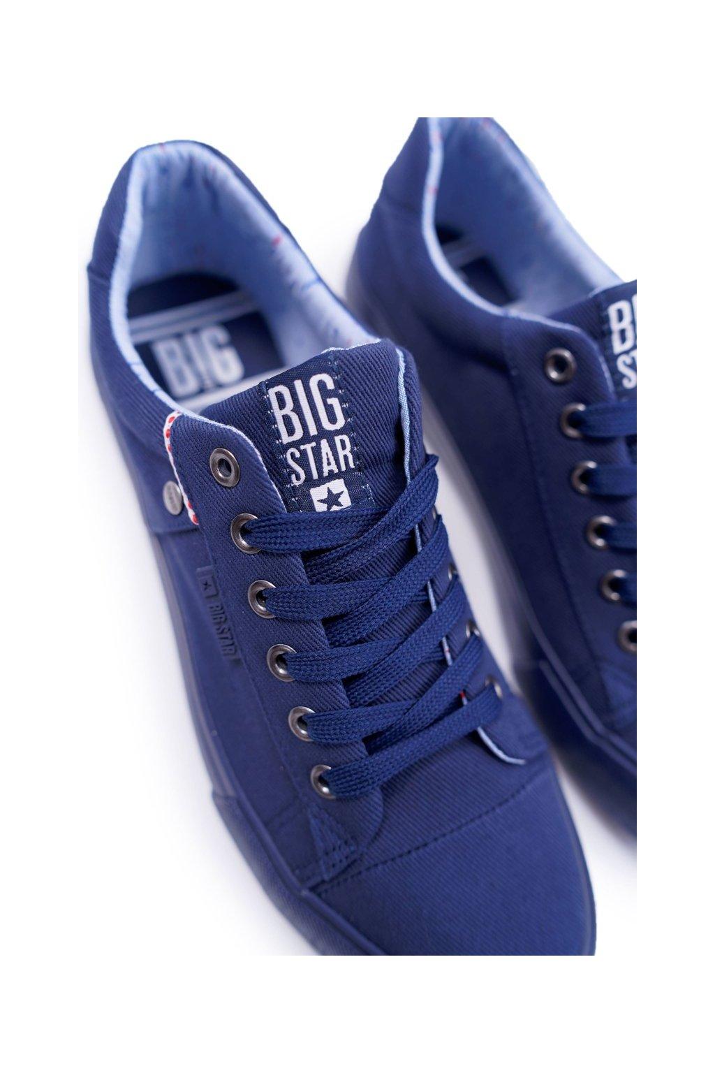 Pánske tenisky B. Star tmavo modré AA174094