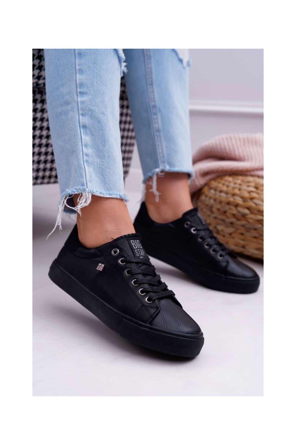 Dámske tenisky farba čierna kód obuvi BB274032 BLK