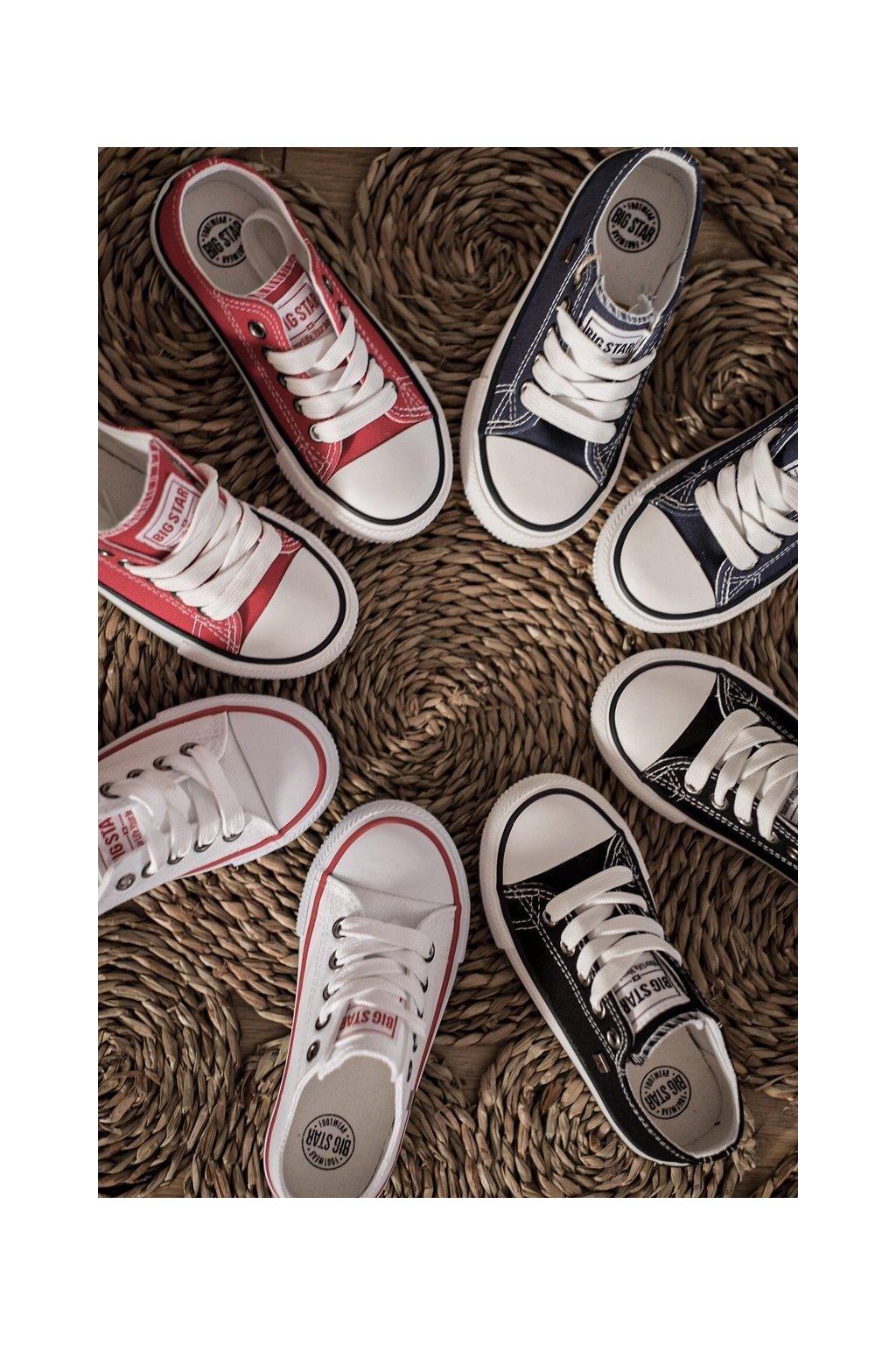 Detské tenisky farba biela kód obuvi FF374200 WHITE