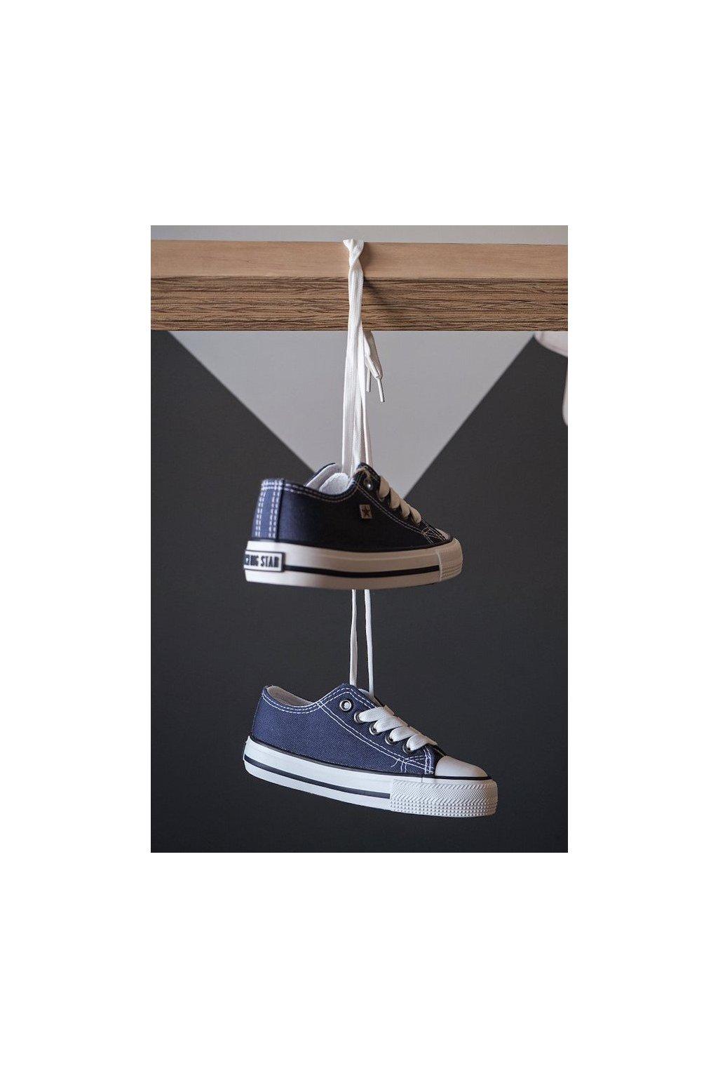 Detské tenisky farba modrá kód obuvi FF374202 NAVY