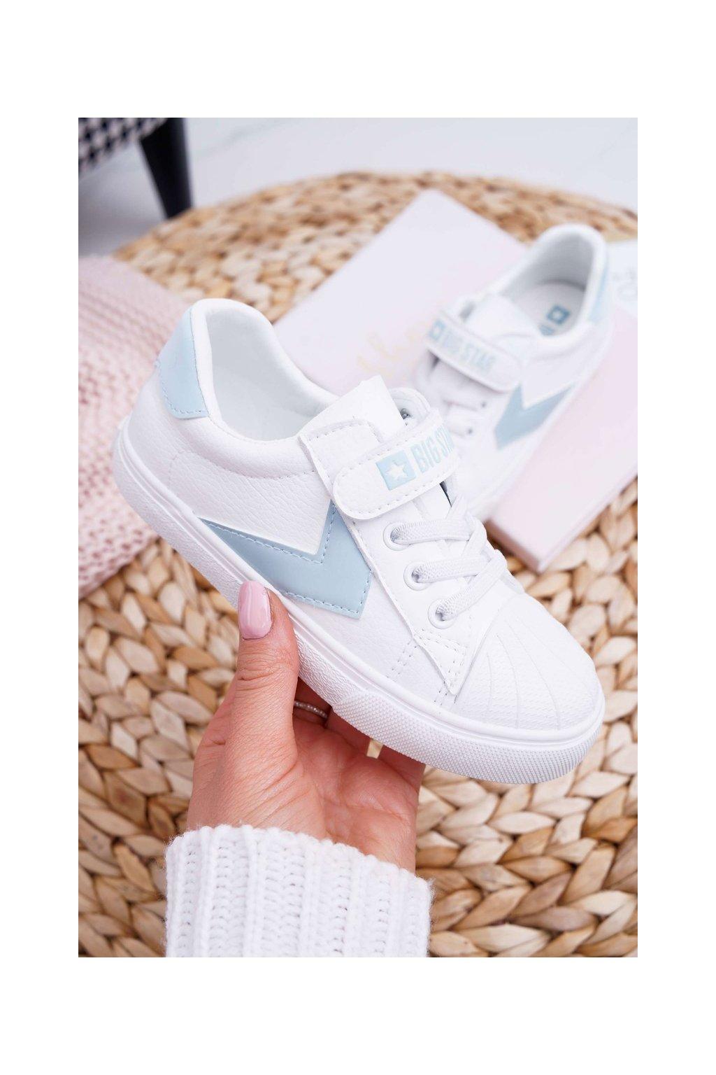 Detské tenisky farba biela kód obuvi FF374120 WHITE