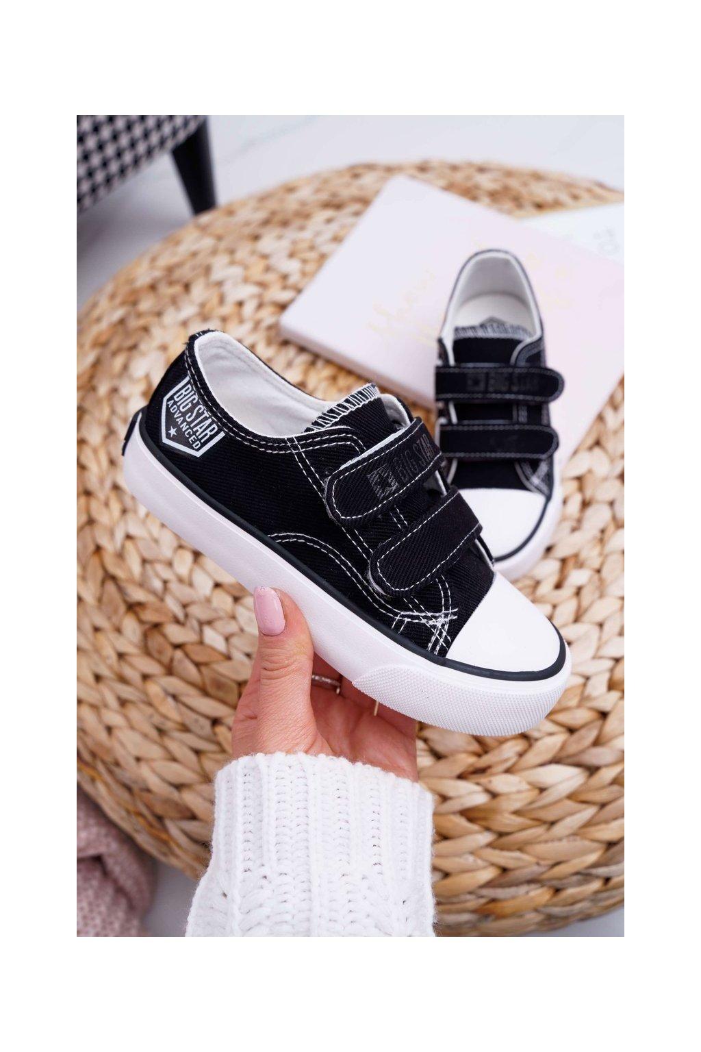 Detské tenisky farba čierna kód obuvi FF374062 BLK