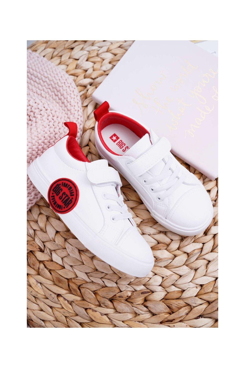 Detské tenisky farba biela kód obuvi FF374088 WHITE