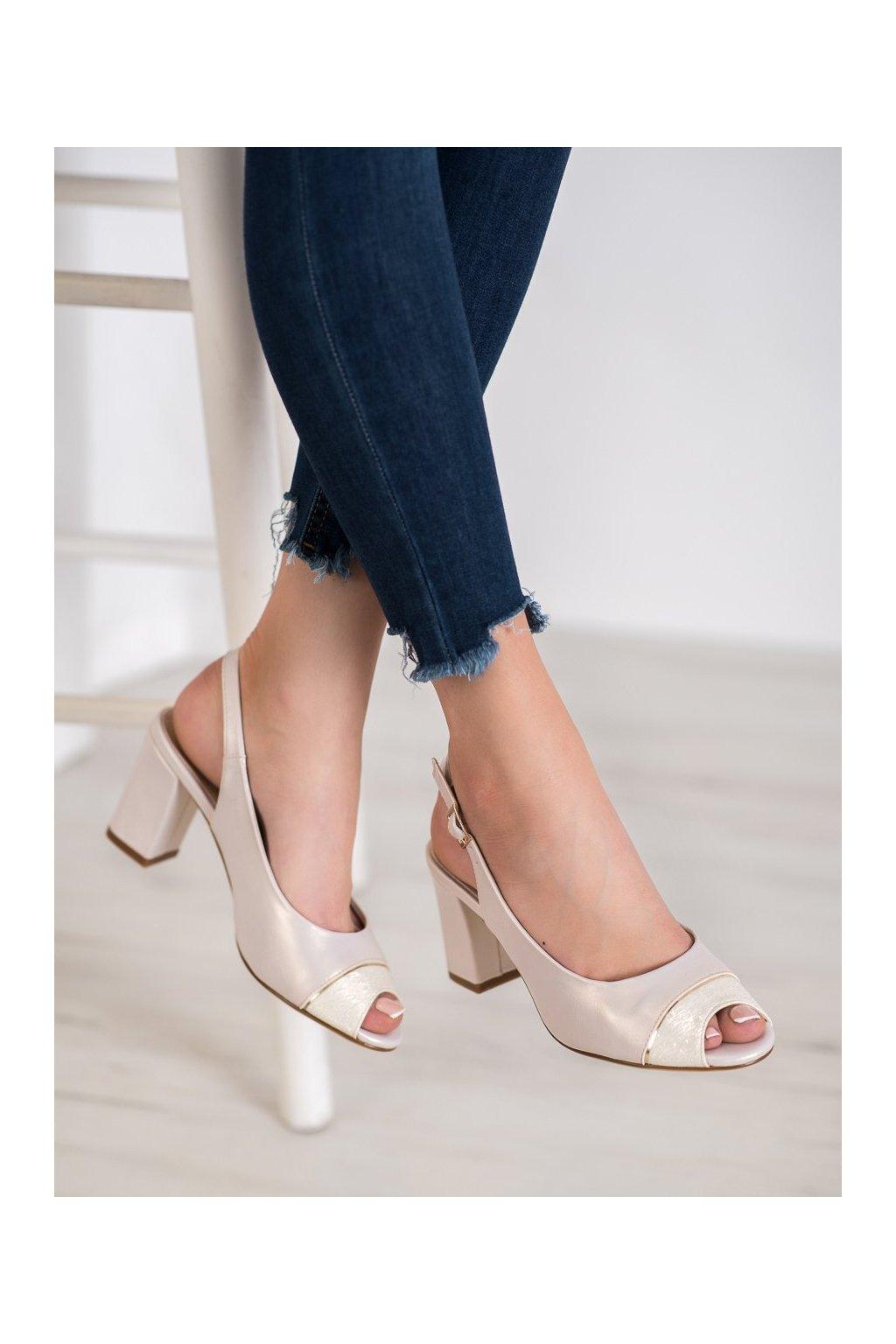 Fialové sandále Sergio leone kod SK762BE