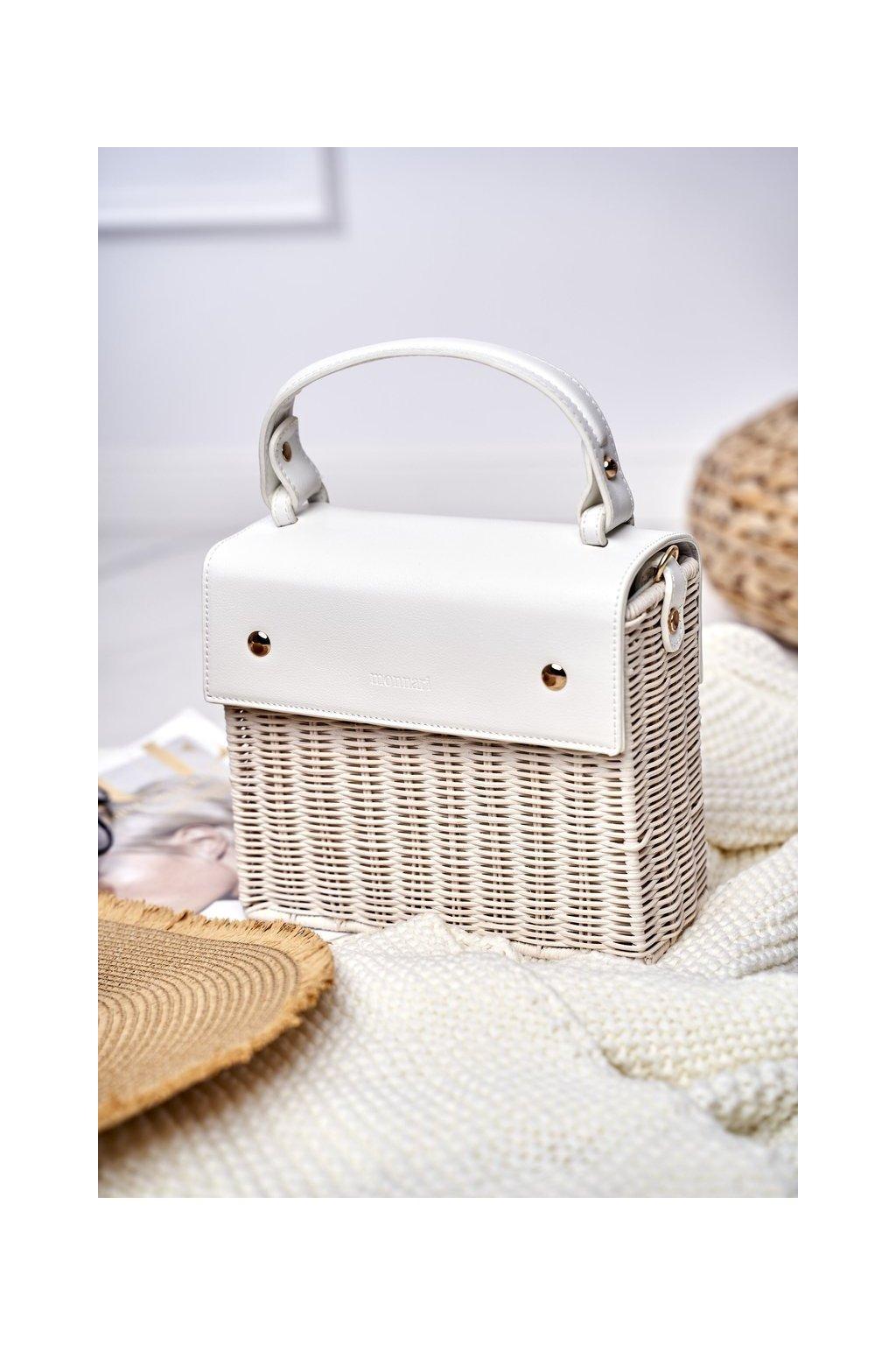 Dámska Kabelka Monnari biela BAG3660-000