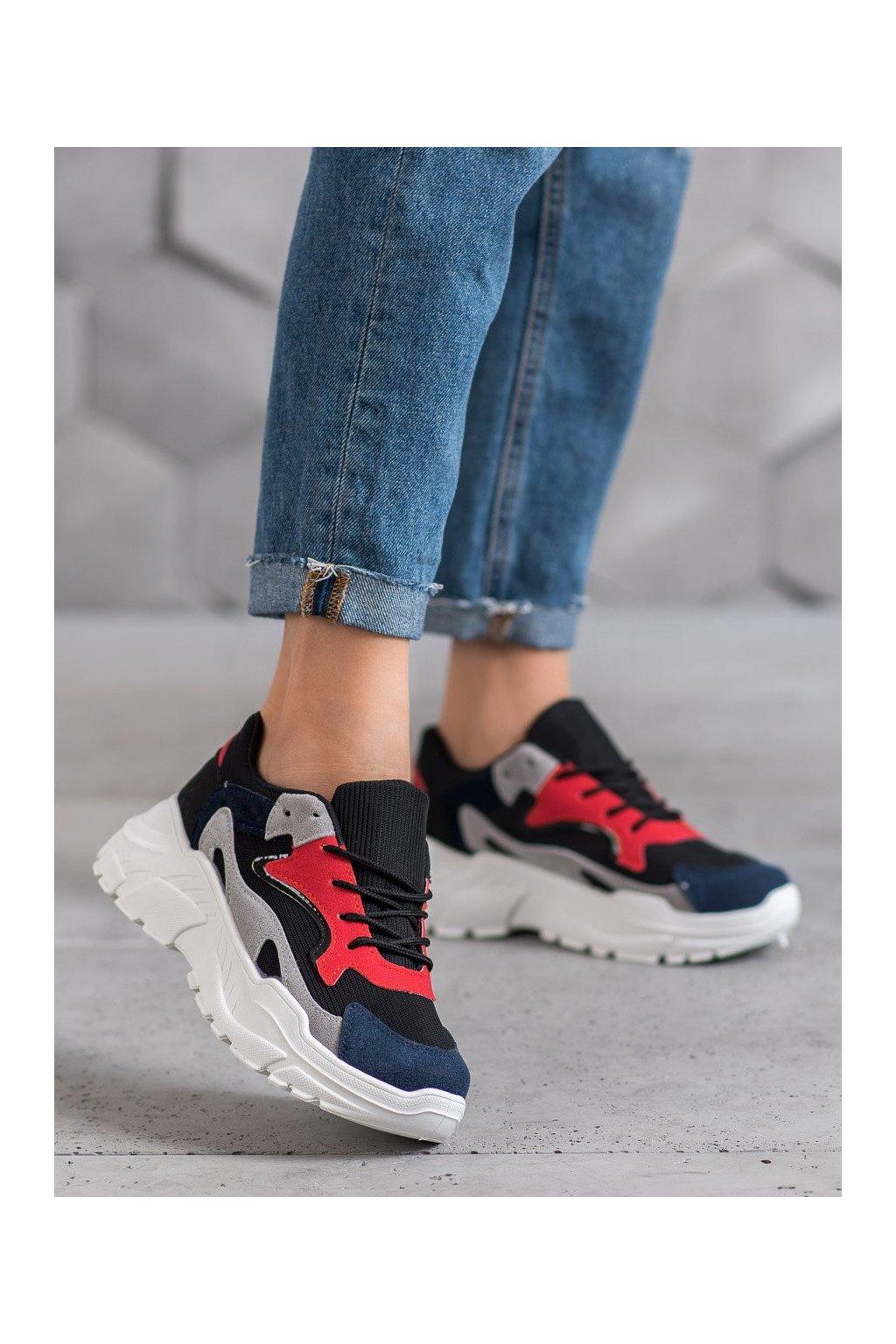 Viacfarebné topánky Shelovet kod 1067B