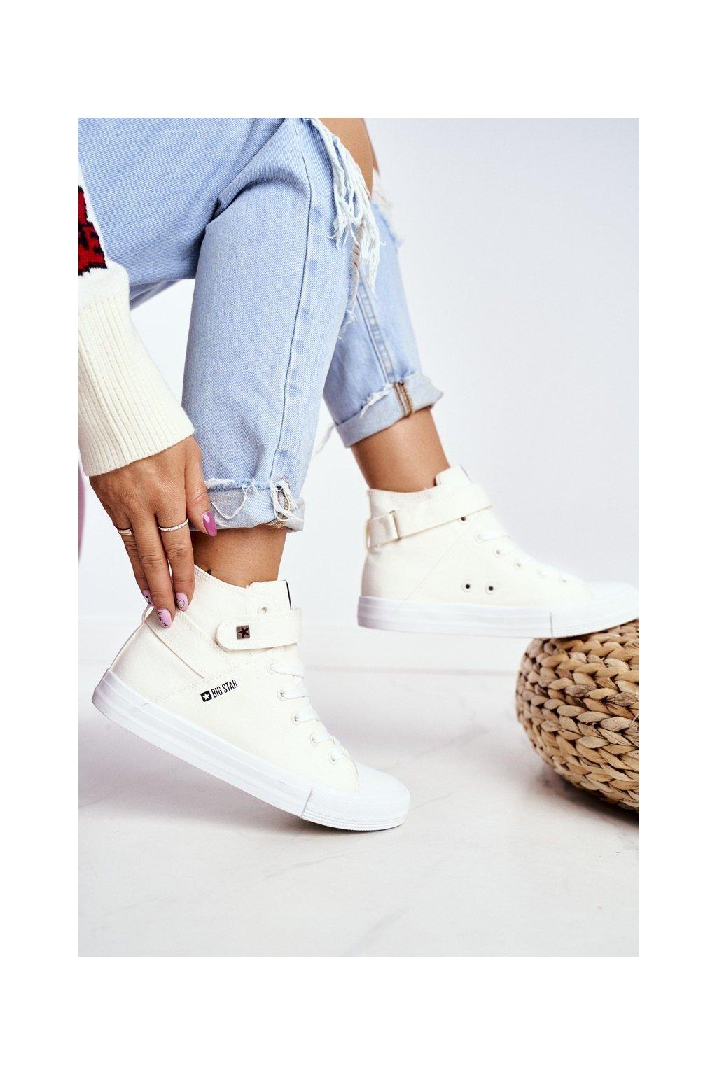 Dámske tenisky farba biela kód obuvi FF274579 WHITE