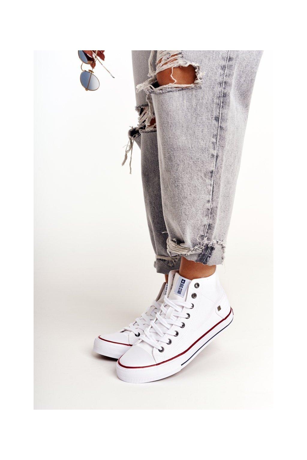 Dámske tenisky farba biela kód obuvi DD274332 WHITE