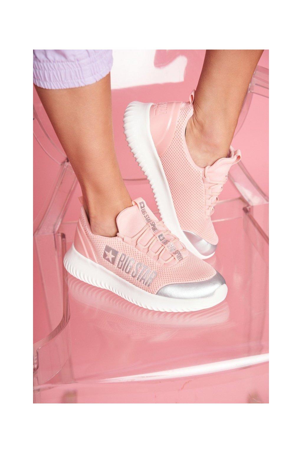 Dámske tenisky farba ružová kód obuvi FF274A413 L. PINK