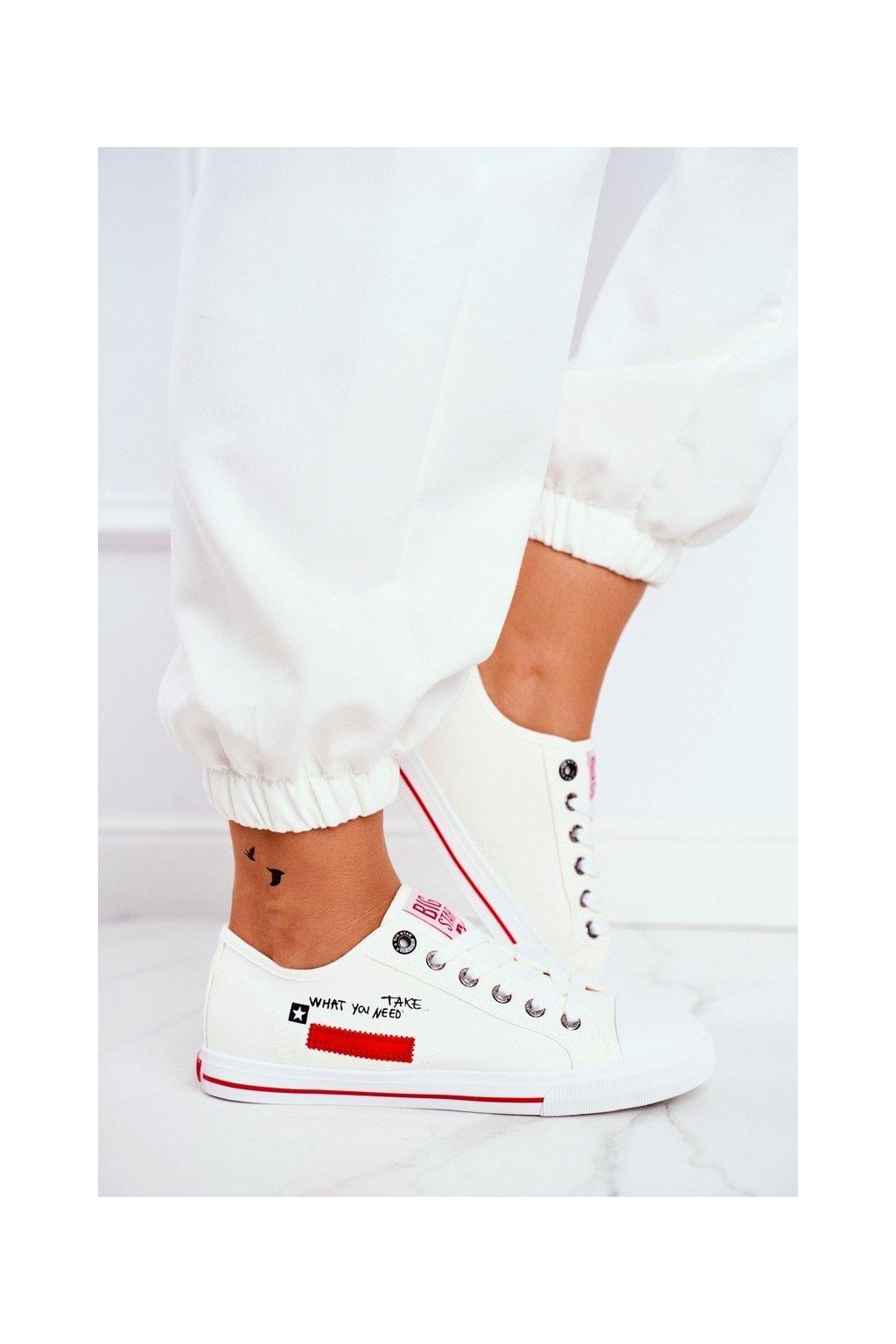 Dámske tenisky farba biela kód obuvi FF274079 WHITE