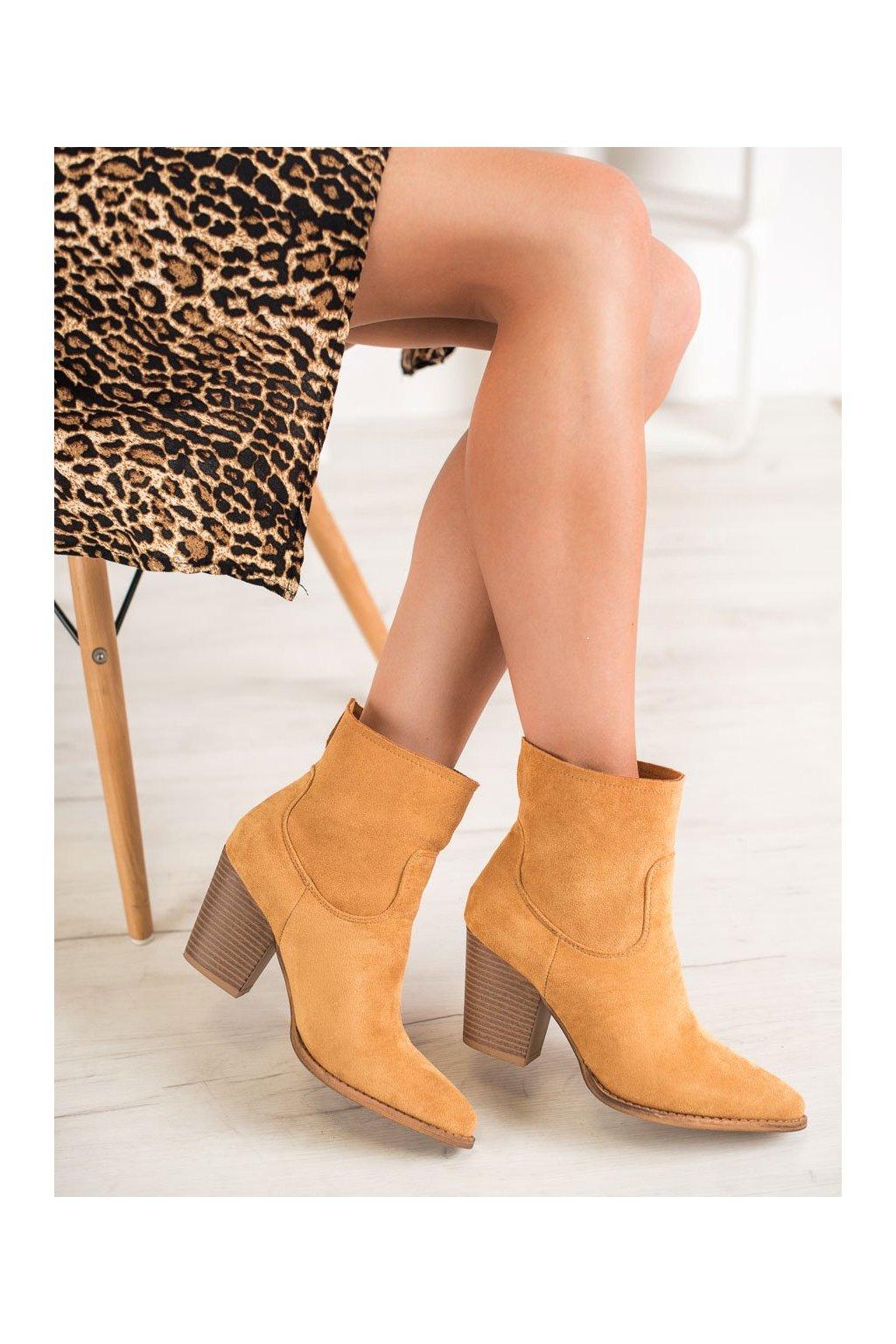 Hnedé dámske topánky Seastar kod ZE02C