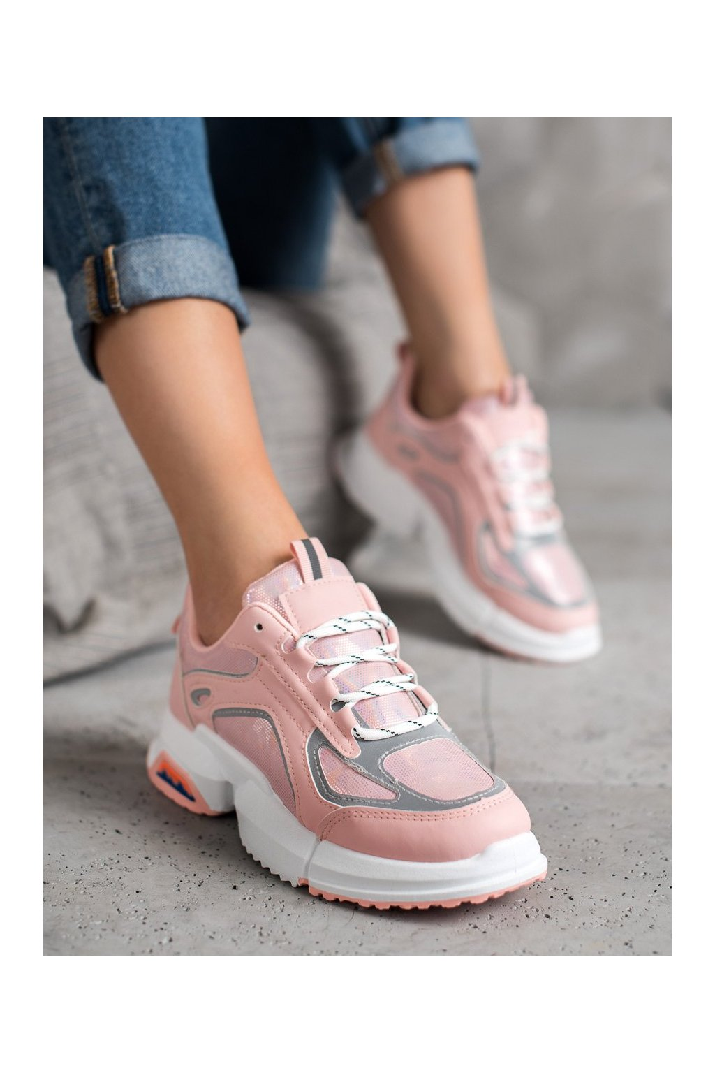 Ružové tenisky Shelovet kod BO-557P