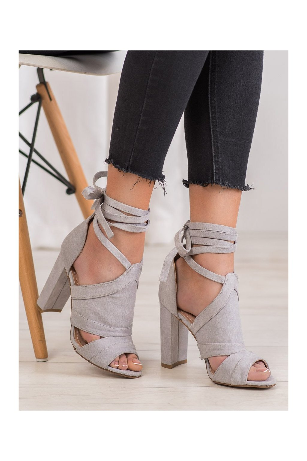 Sivé sandále Seastar kod NS112LT.G