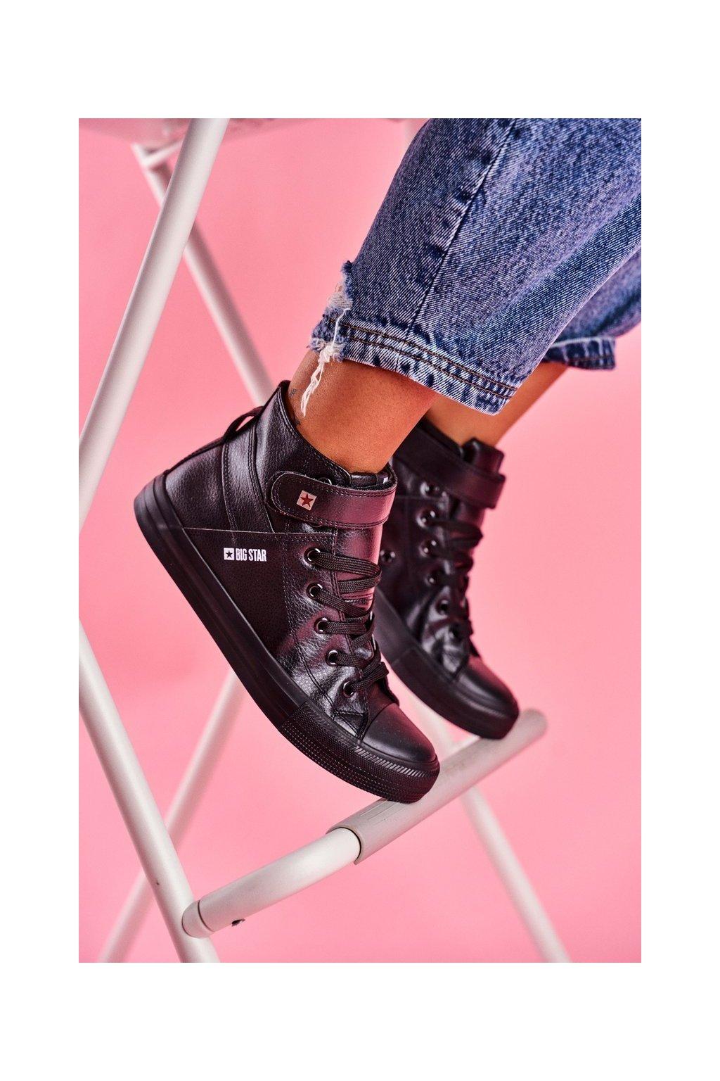 Dámske tenisky farba čierna kód obuvi V274542 BLK