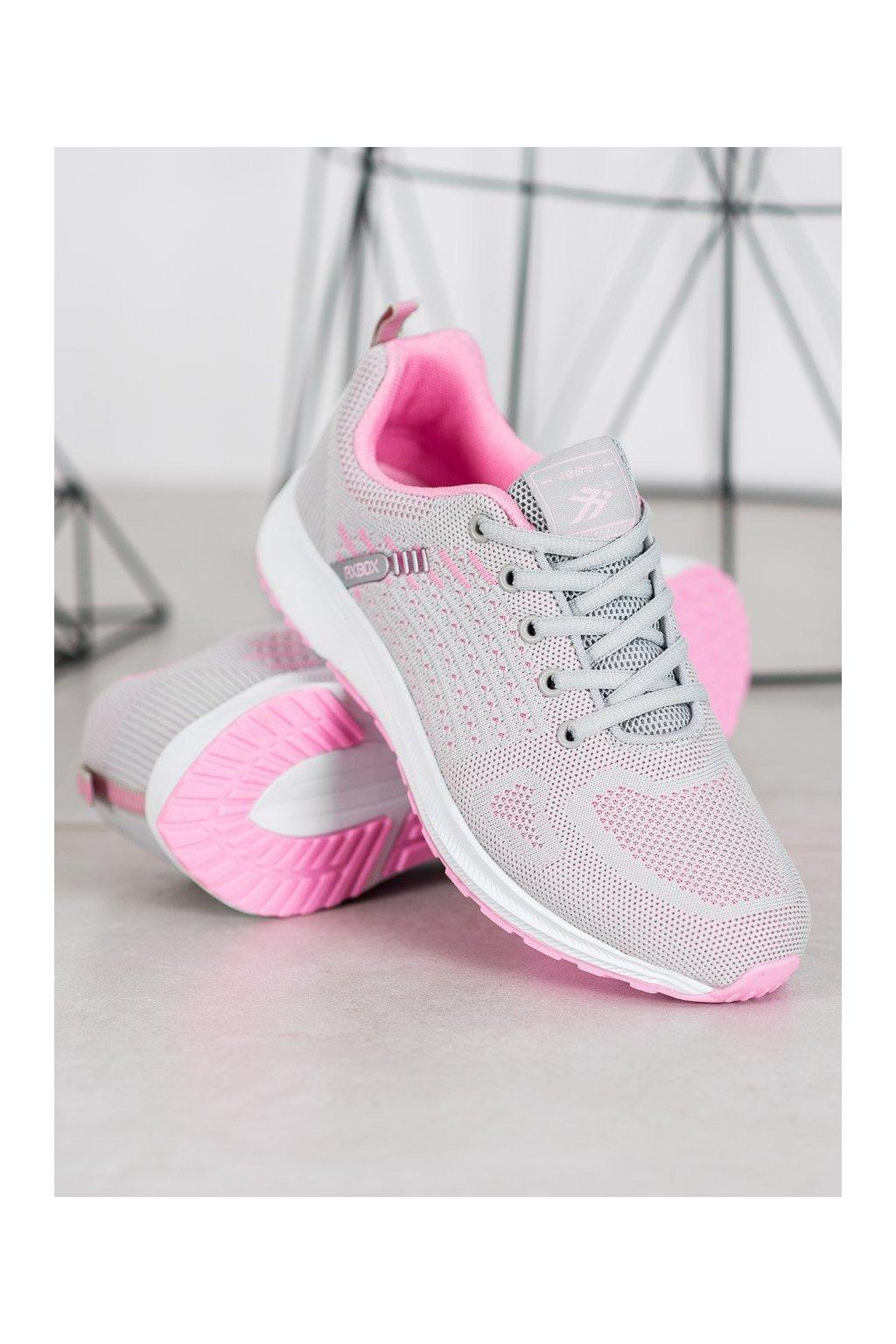 Ružové tenisky Ax boxing kod BPW0154G/P