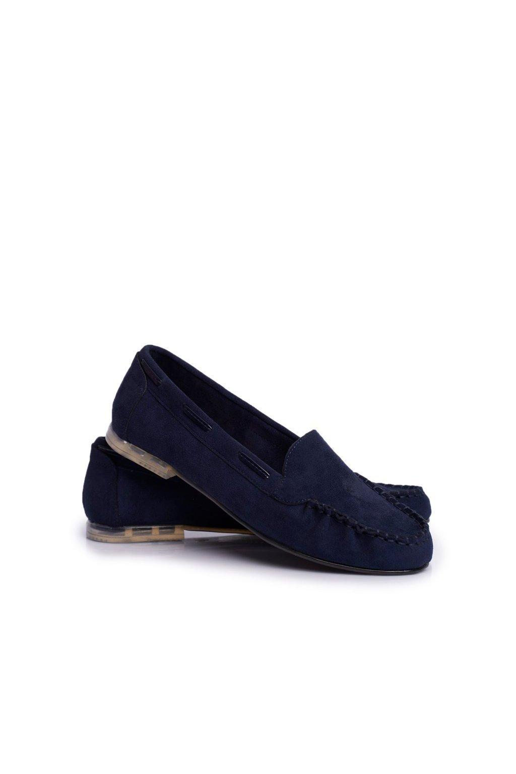 Dámske mokasíny farba modrá kód obuvi MK722 NAVY MIC