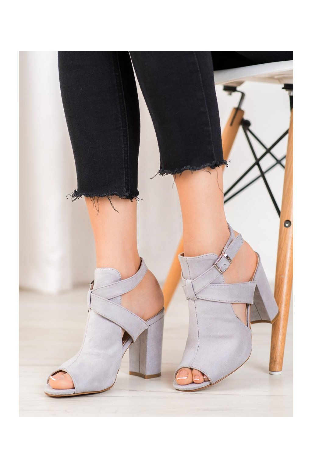 Sivé sandále Seastar kod NS110LT.G