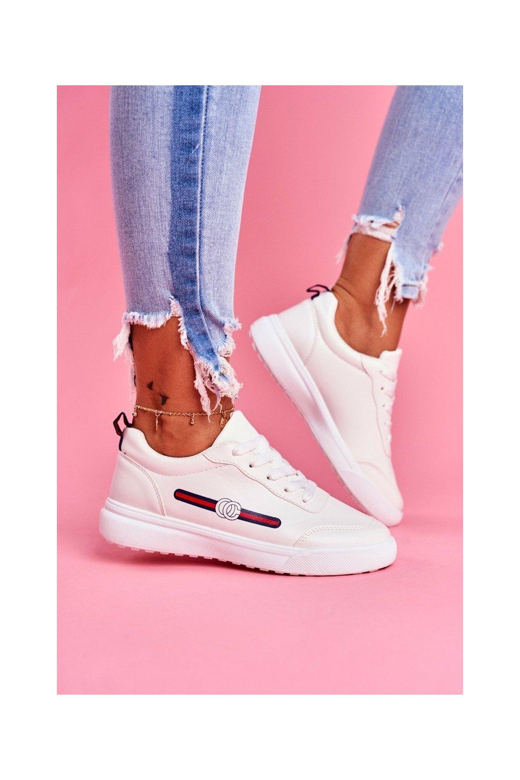 Dámska športová obuv bilá Naomi