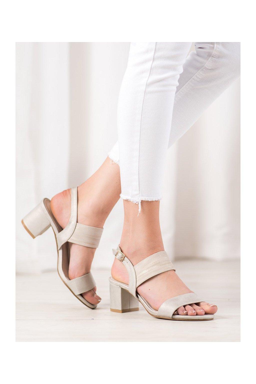 Žlté sandále Goodin kod FL1029GO