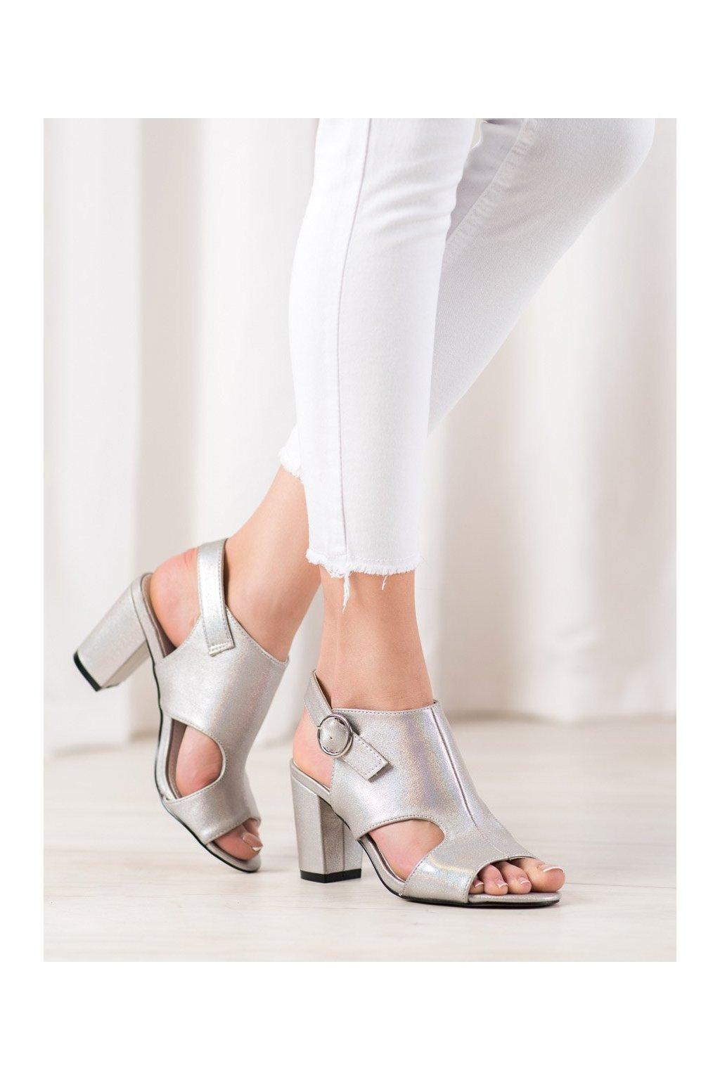 Sivé sandále Goodin kod FL1506A-T