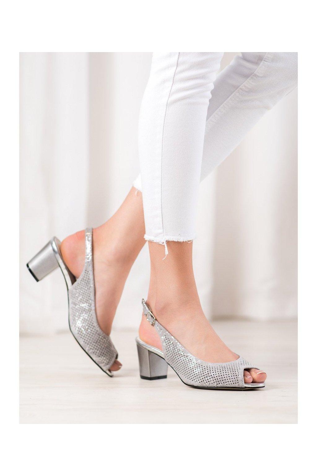 Sivé sandále Goodin kod FL1015A-G