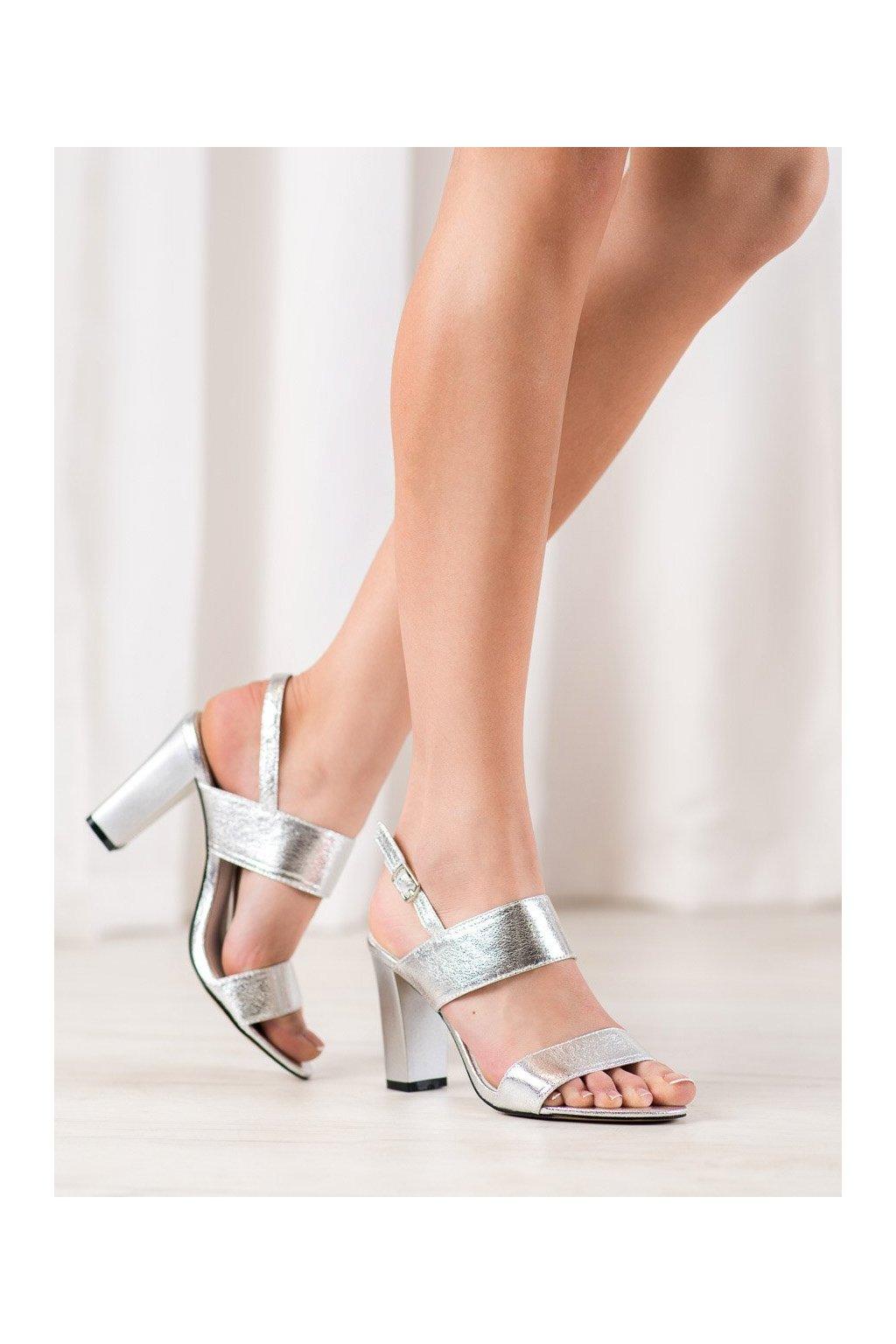 Sivé sandále Goodin kod FL142B-S