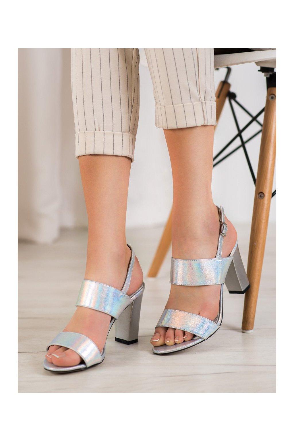 Sivé sandále Goodin kod FL142C-S