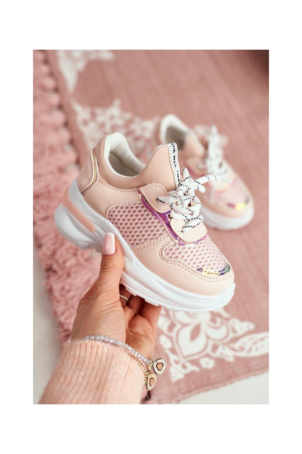 Detské tenisky farba ružová kód obuvi 892-B PINK