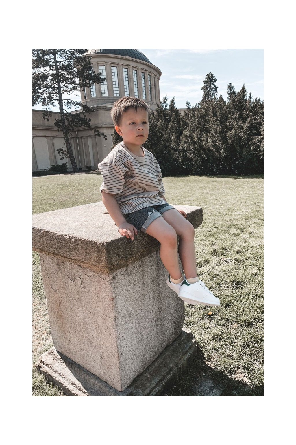 Detské tenisky farba čierna kód obuvi 876-A WHITE/BLK