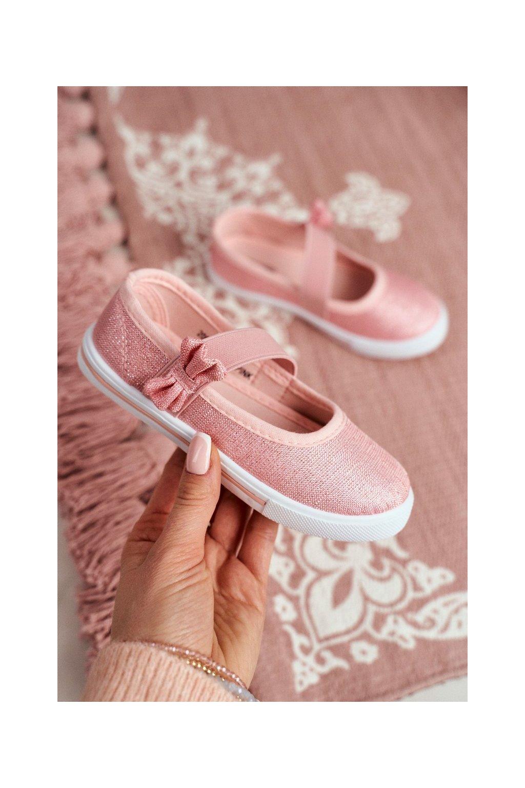 Detské tenisky farba ružová kód obuvi 20DZ26-1744 PINK