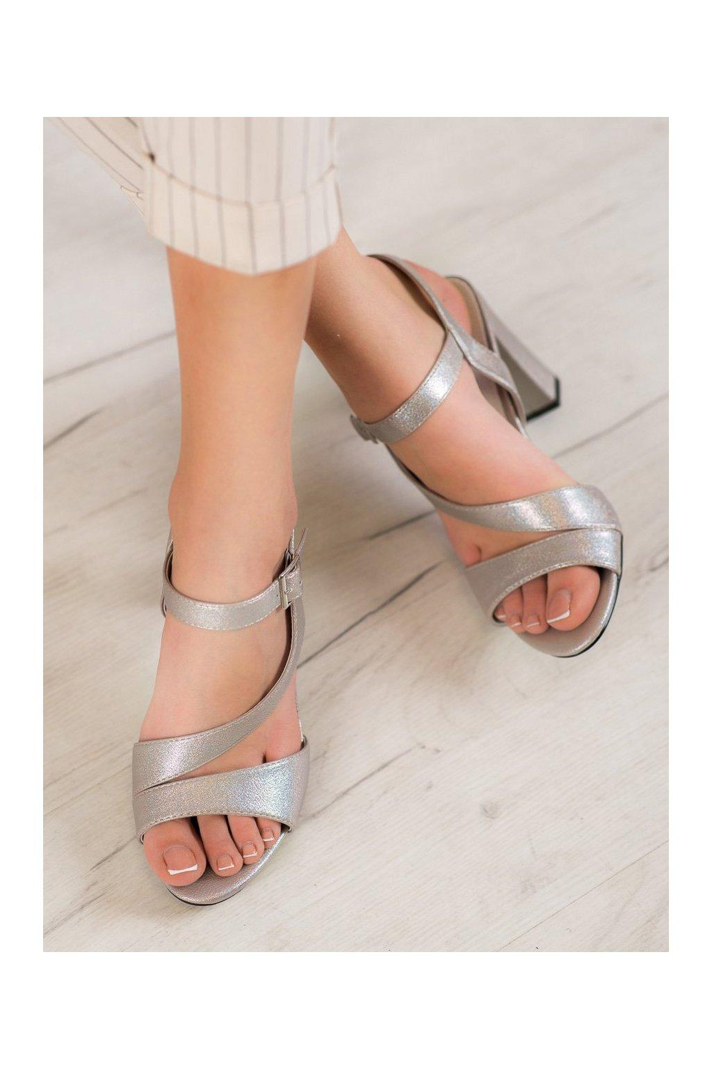 Sivé sandále Goodin kod FL1022C-T