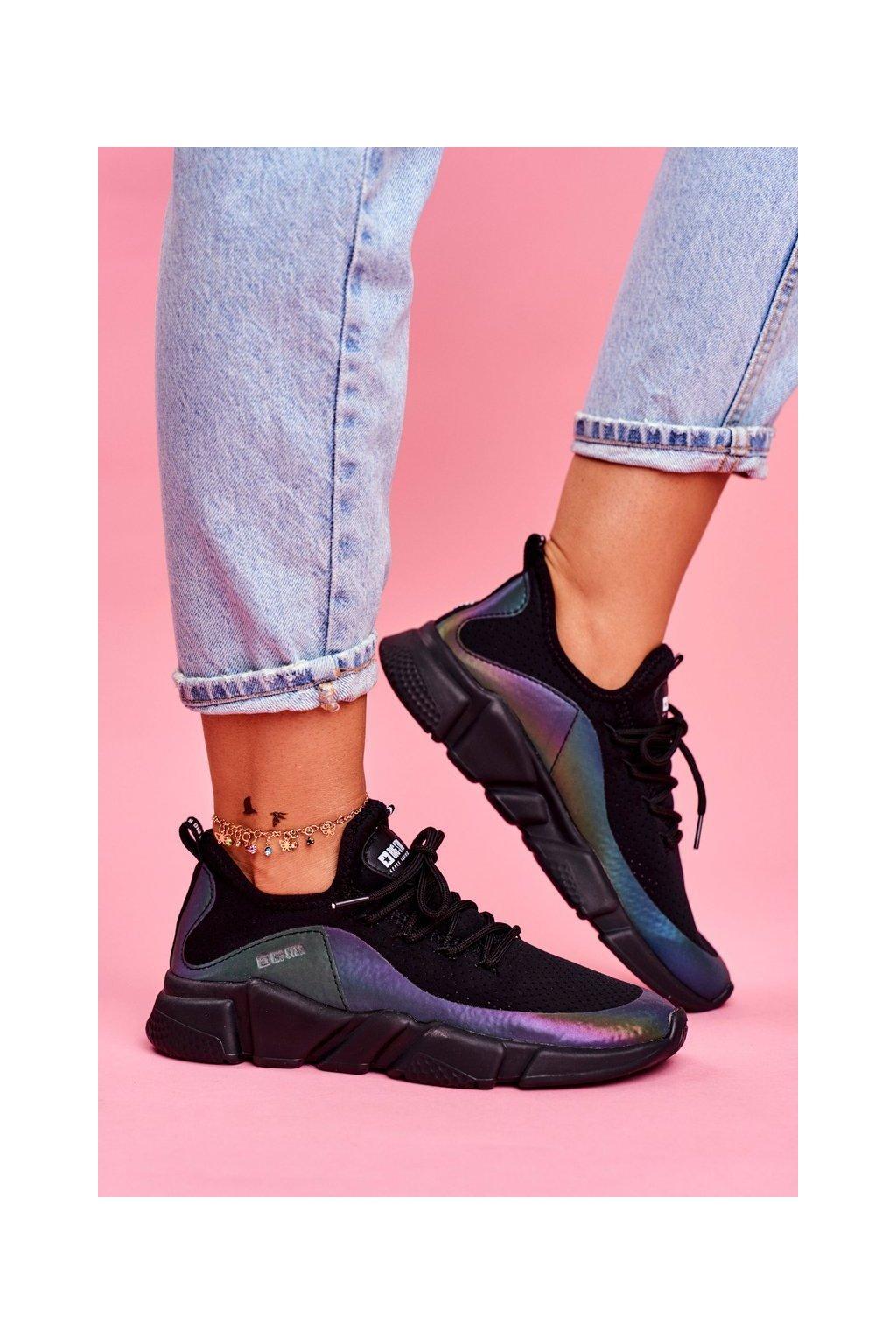 Dámske tenisky farba čierna kód obuvi FF274A053 BLK