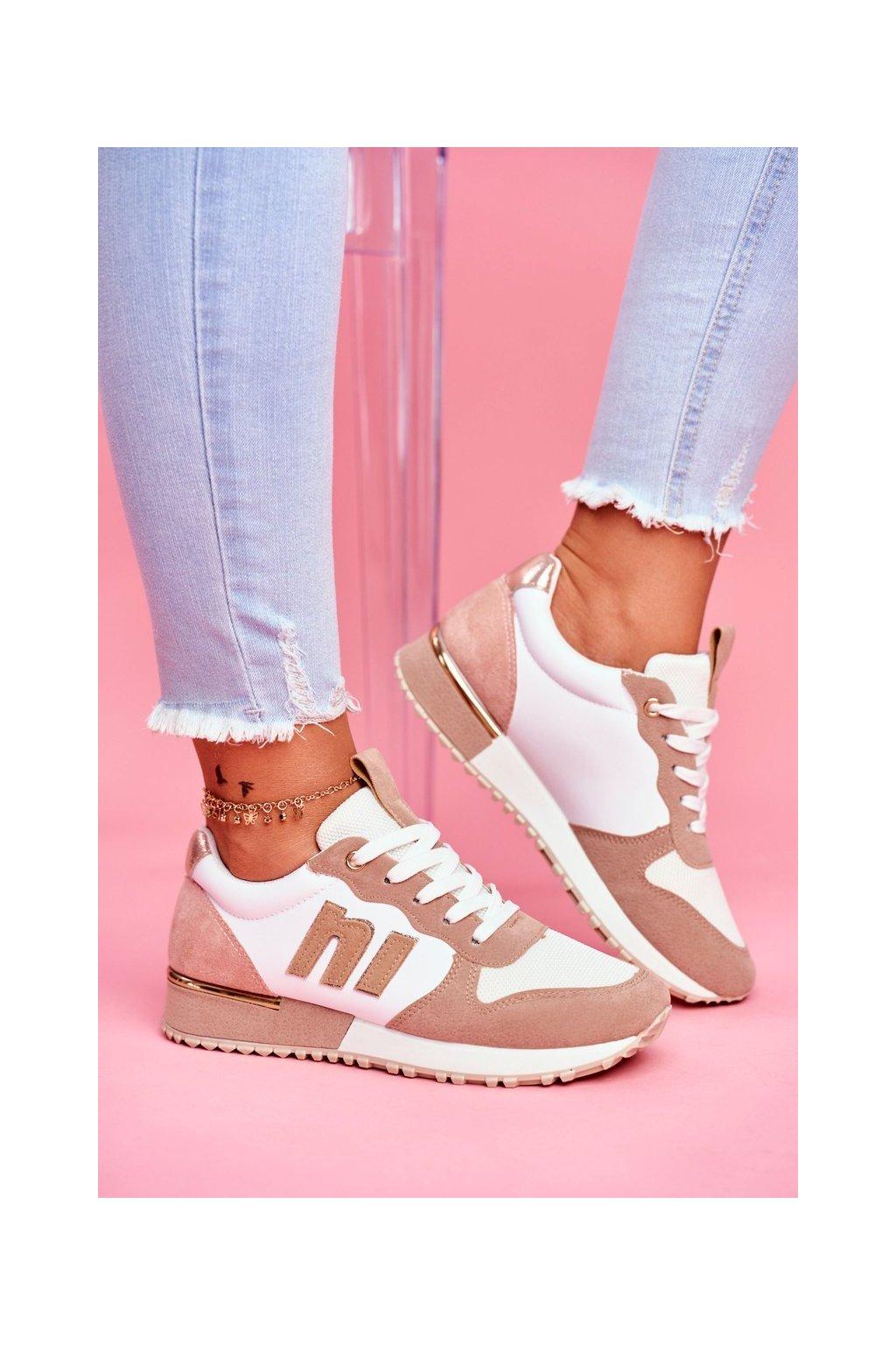 Dámska športová obuv Bílo-Béžová Funky