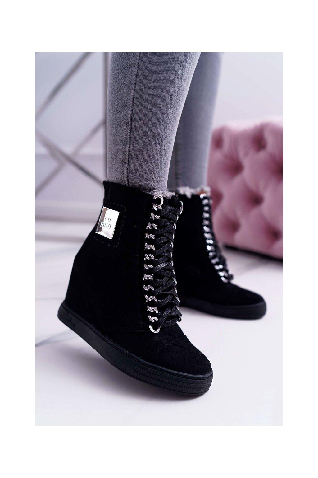 Dámske tenisky farba čierna kód obuvi B-2 BLK