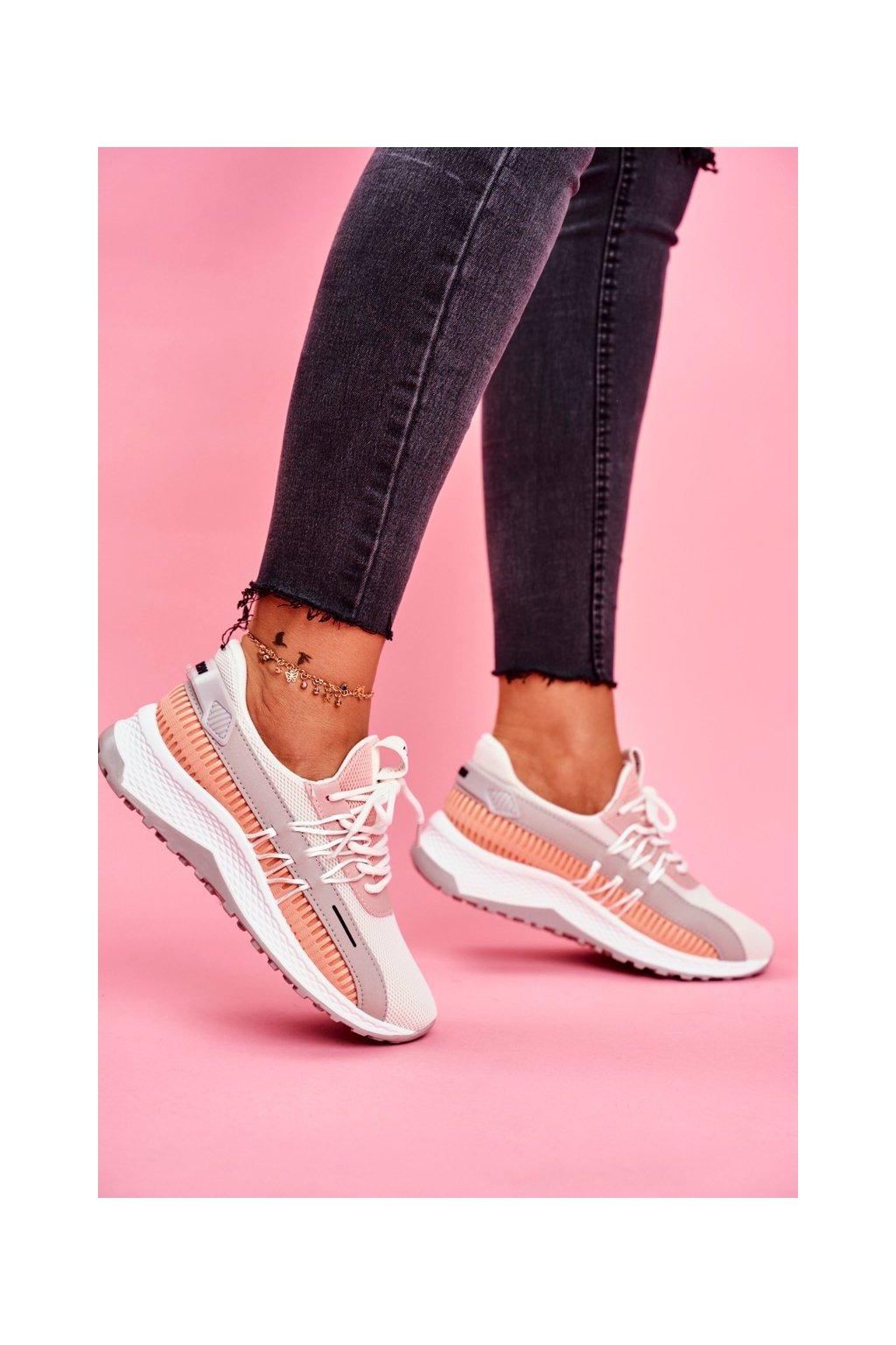 Dámska športová obuv Sneakers biela Pamela