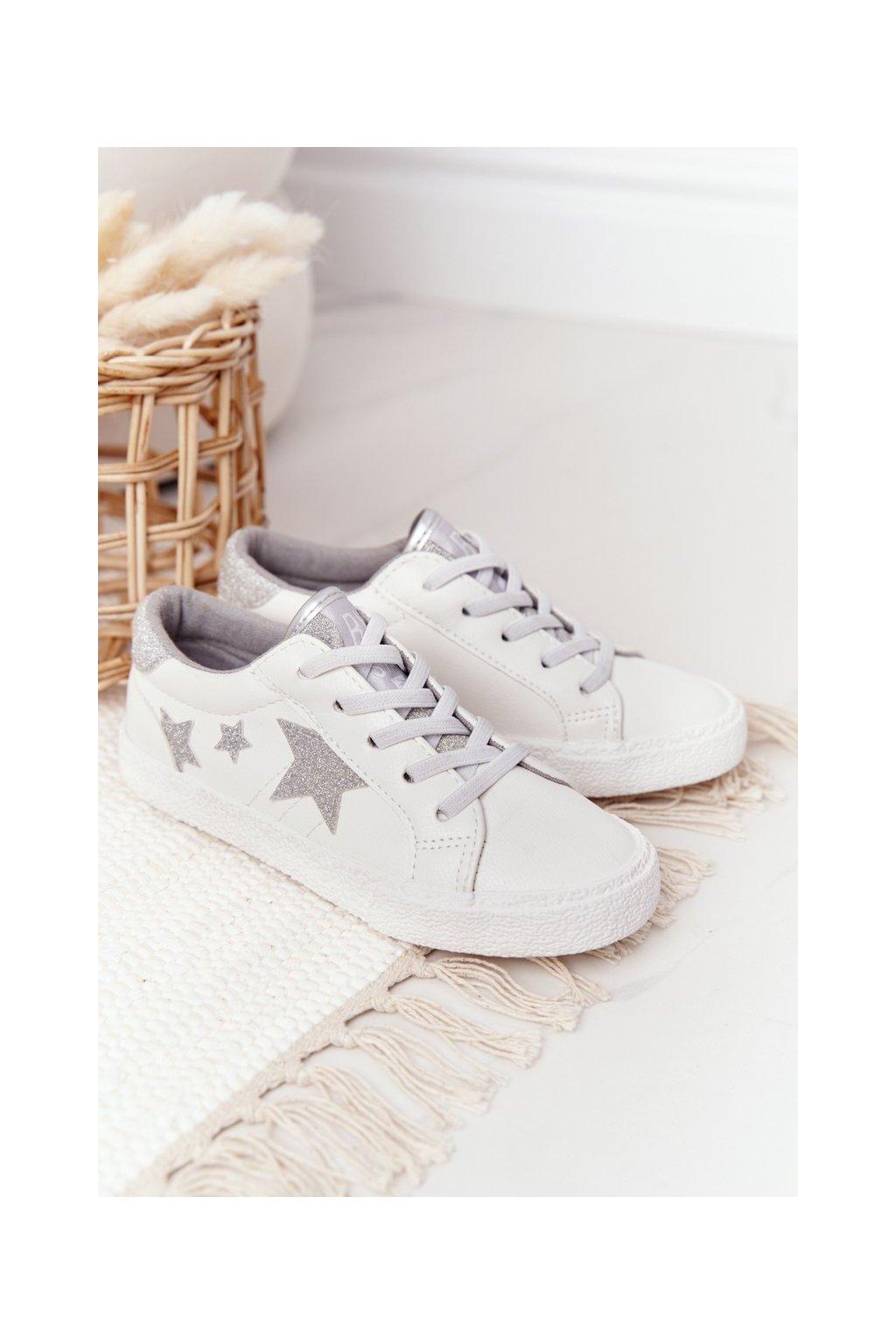 Detské tenisky farba biela kód obuvi FF374034 WHITE