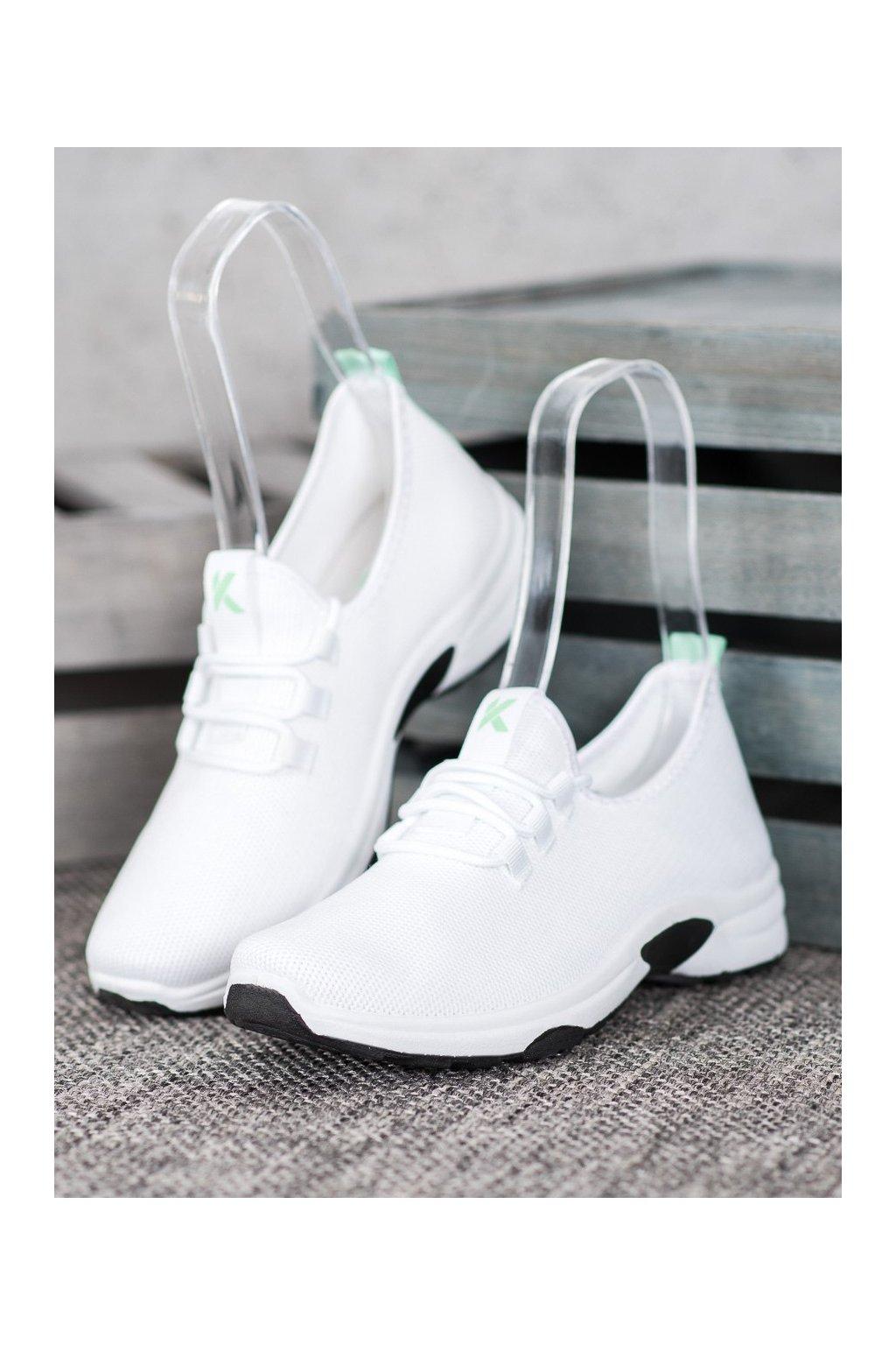 Biele tenisky Kylie kod K2019901BLA