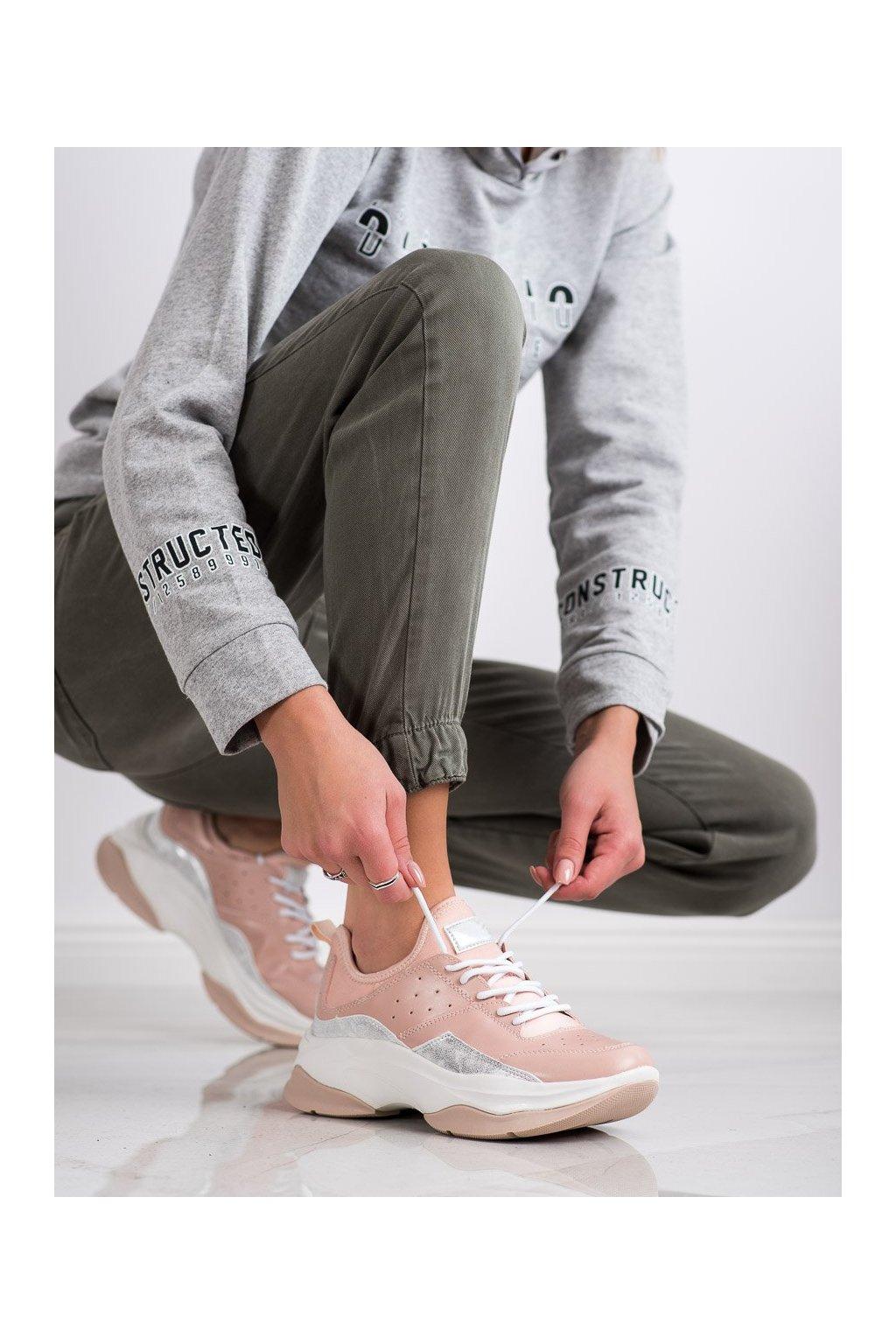 Ružové tenisky Kylie kod K2017405NU