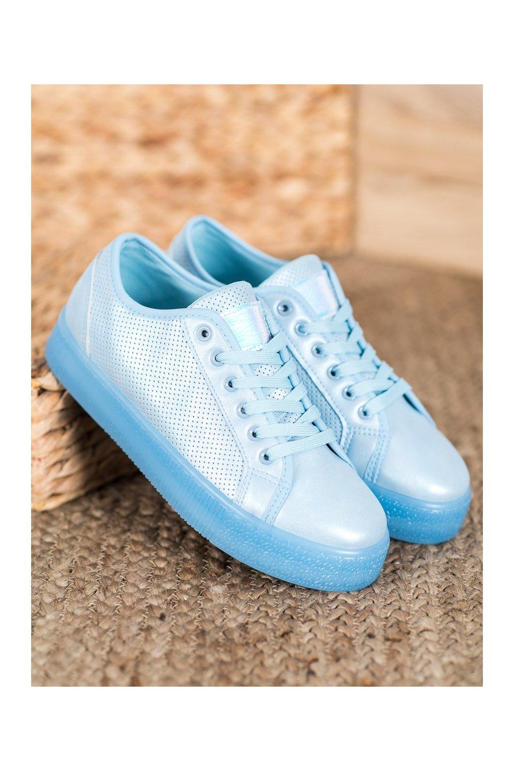 Modré tenisky Shelovet kod F-2969BL