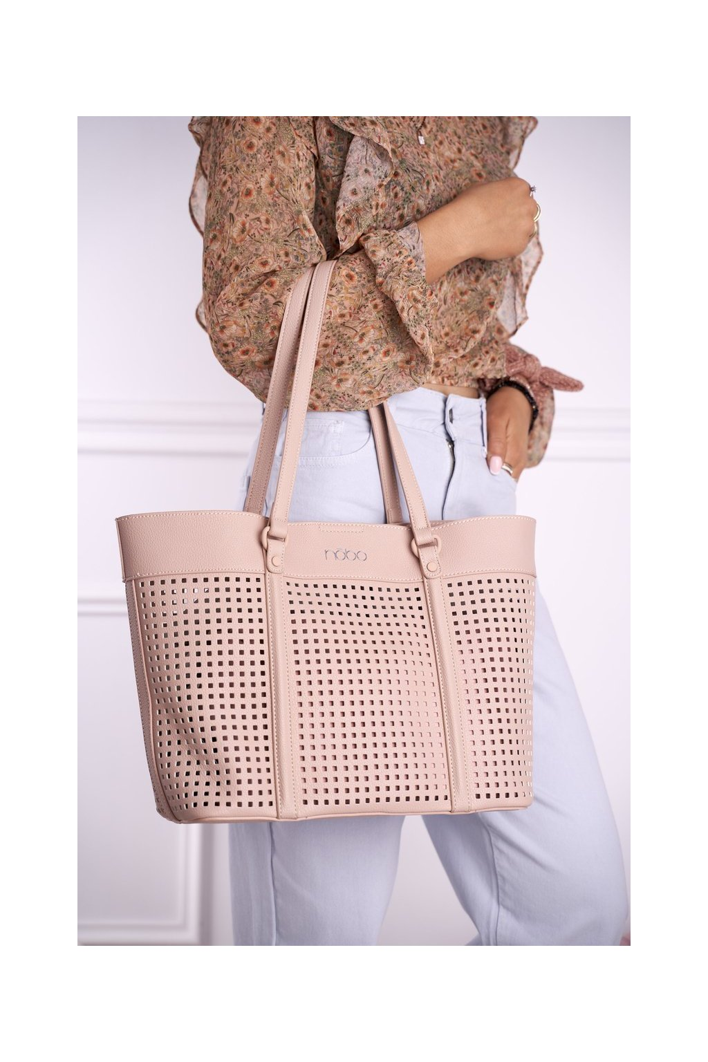 Dámska kabelka ružová kód kabelky NBAG-I0300-C004 PINK