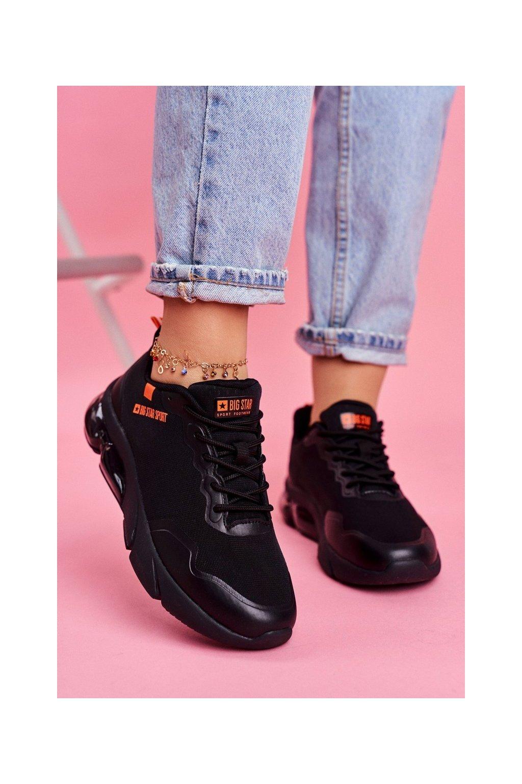 Dámske tenisky farba čierna kód obuvi FF274946 BLK