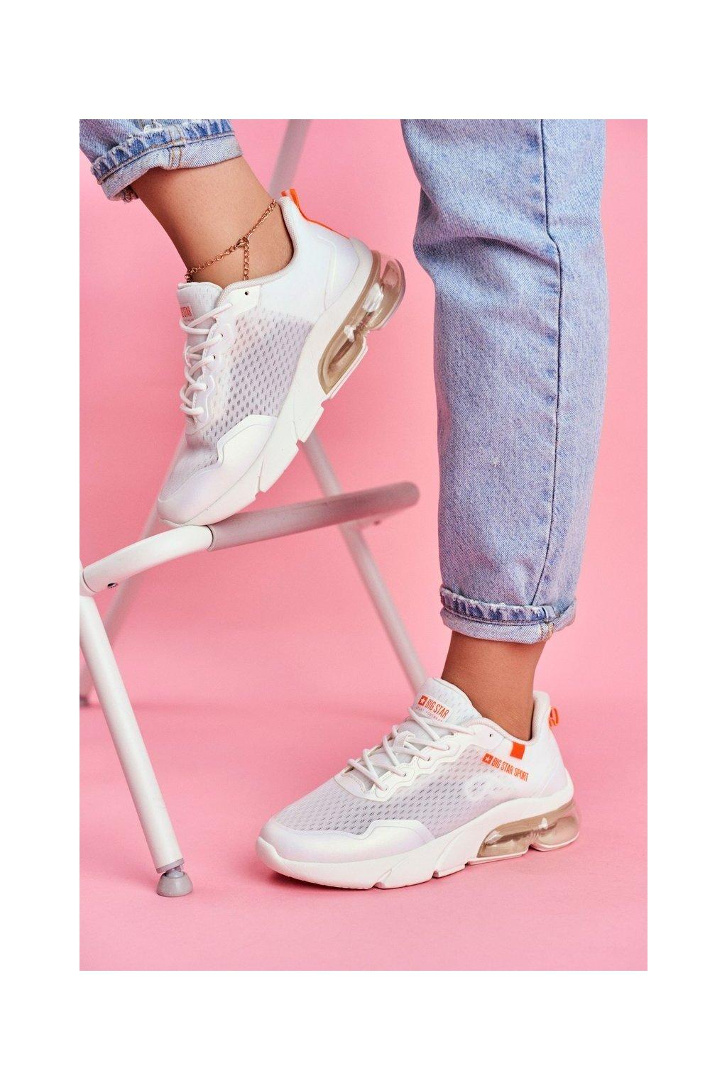 Dámske tenisky farba biela kód obuvi FF274945 WHITE